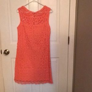 Lilly Pulitzer Crochet Lace Dress